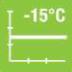 Verwarmingsvermogen tot -15 graden C